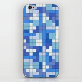 Tetris Camouflage Marine iPhone Skin