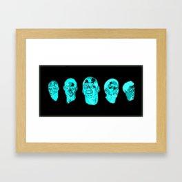 The Greatest Team Ever Framed Art Print