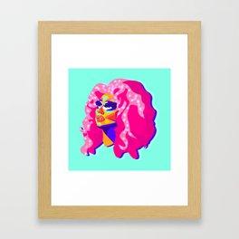 QUEEN TRIXIE MATTEL Framed Art Print