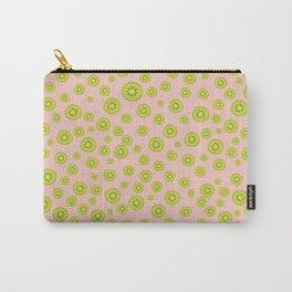 Kiwi Polka Dot Pattern Carry-All Pouch