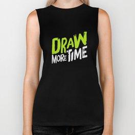 Draw more time! Biker Tank