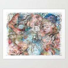 Tap Out Art Print