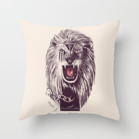 Libertas Throw Pillow
