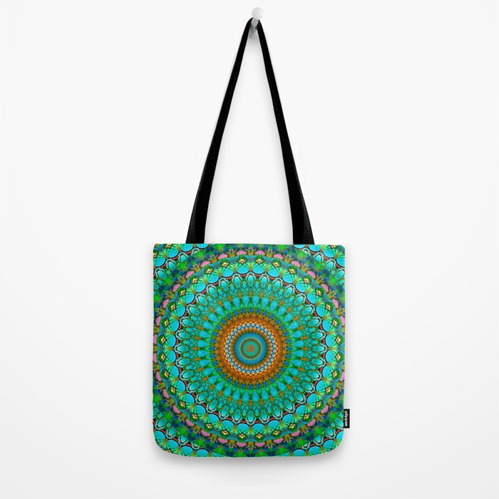 Geometric Mandala G388 Tote Bag