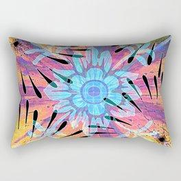 Colors Colide Rectangular Pillow
