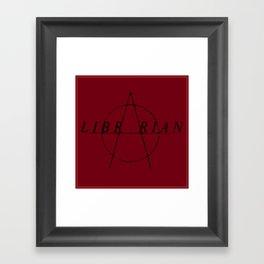 Anarchist Librarian Framed Art Print