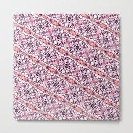 30 degree pink & purple Metal Print