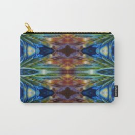 Feather Bloom Study Pattern Carry-All Pouch