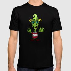 Beany Monster Mens Fitted Tee Black SMALL