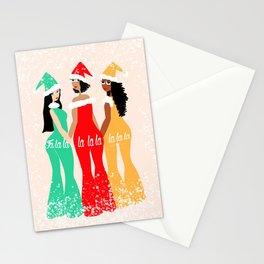 Fa La La La La La La La Stationery Cards