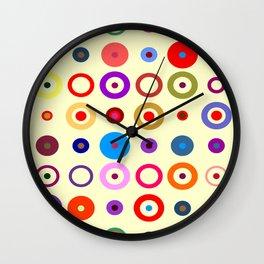 Op Art #7 Wall Clock