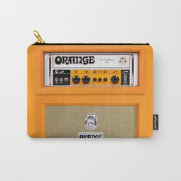 Bright Orange color amplifier amp Carry-All Pouch