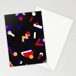 Memphis geometric pattern #2 Stationery Cards