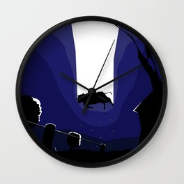 Kidnapping Wall Clock