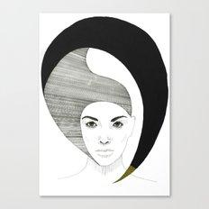 Fashion Illustration 4  Canvas Print