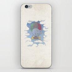 Elephant balloon iPhone & iPod Skin