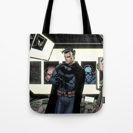 In the Batcave Tote Bag
