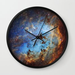 The Tapdole Nebula Wall Clock