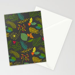 Fall floral pattern Stationery Cards
