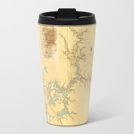 Map of the Proposed Panama Canal (1906) Travel Mug