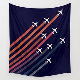 Aerial acrobat Wall Tapestry