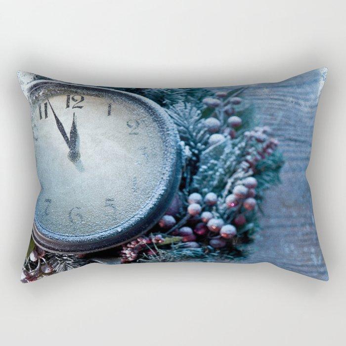 Winter wonderland frozen time Rectangular Pillow