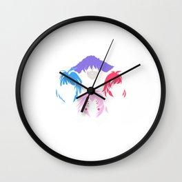 Bohemian Holograms Wall Clock