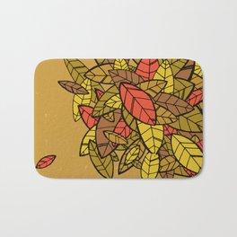 Autumn Memories (a pile of leaves) Bath Mat