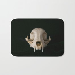 Cat Skull Bath Mat