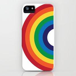 70's Love Rainbow iPhone Case