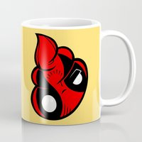poop Mugs featuring Dead Poop by Artistic Dyslexia