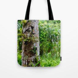 Plants on Trunk Tote Bag