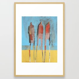 All Dressed Up Framed Art Print