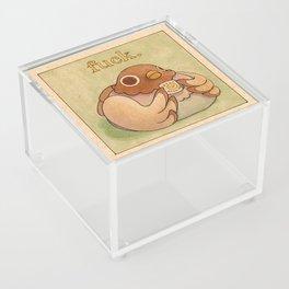 'Fuck' Pigeon 06 Acrylic Box
