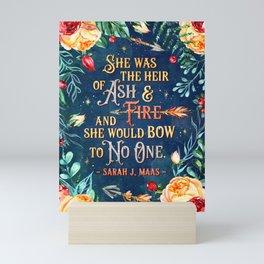 Ash & Fire Mini Art Print