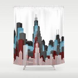 Chicago Gothic Shower Curtain