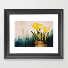 Tulipes Framed Art Print