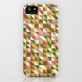 Orange And Green iPhone Case