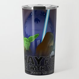 Frod0 the Sheltie: May The Furs Be With You (2019) Travel Mug