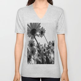 Below The Daisies Unisex V-Neck
