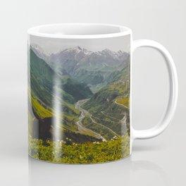 Pretty Horses In Mountain Valley Coffee Mug