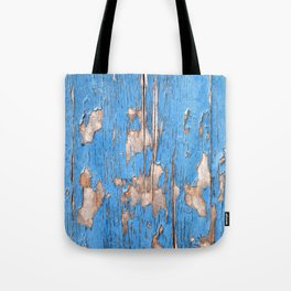 Flaky Blue 61 Tote Bag