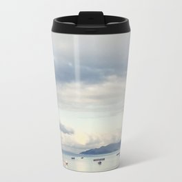 Silver Barges Travel Mug