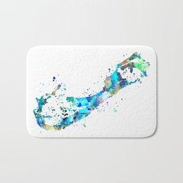 Bermuda Map Bath Mat