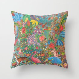 Fairytales Throw Pillow