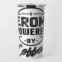 Jerome Powered by Coffee Travel Mug
