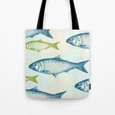 Vintage Fish Tote Bag