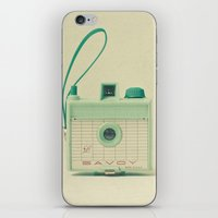 mint iPhone & iPod Skins featuring Mint by Cassia Beck