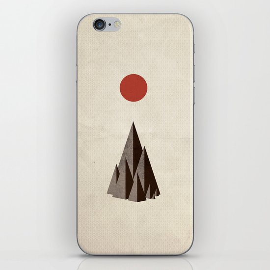 Minimal Mountains iPhone & iPod Skin
