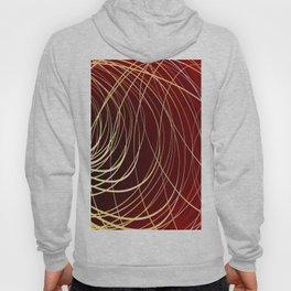 Complex Swirl-Golden Red Hoody